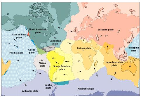 Chapter Part Chapter Tutorial Plate Tectonics Underlies All - Map of us plate boundaries